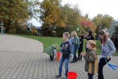 Kinder der Herbstferienbetreuung
