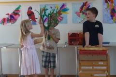 Szene aus Frau Holle